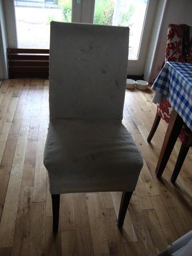 Beroemd 4 eetkamer stoelen opnieuw bekleden - Werkspot @FH44