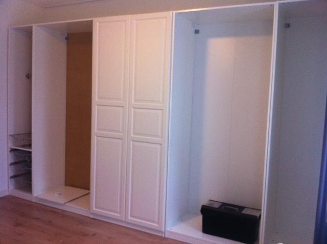 afronden montage pax kast werkspot. Black Bedroom Furniture Sets. Home Design Ideas