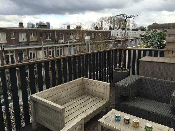 Schilderen buitenkant bij balkon en terras werkspot