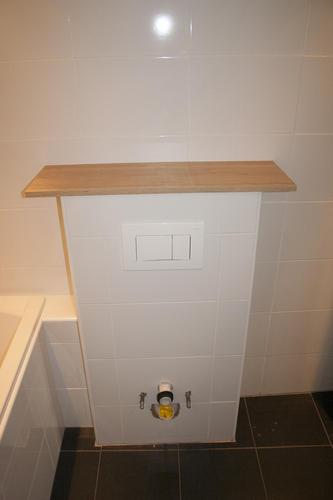 Hangend toilet met sanibroyeur in bestaande badkamer plaatsen - Werkspot
