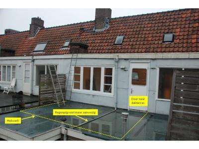 Dakterras aanleggen op plat dak