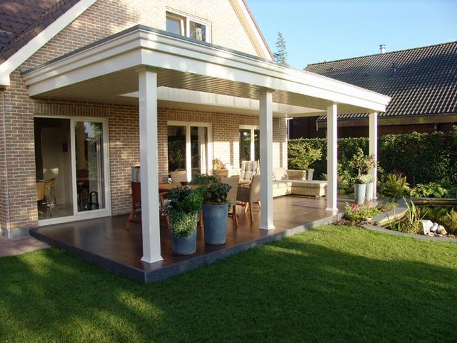 Beautiful klassieke veranda bouwen with klassieke veranda for Prijs veranda