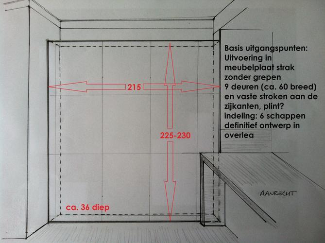 Maken Vaste Kasten Wand 215 X 225 Werkspot