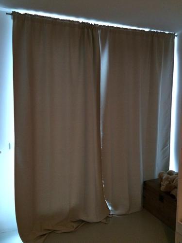 gordijnen + rails ophangen en op maat maken - Werkspot