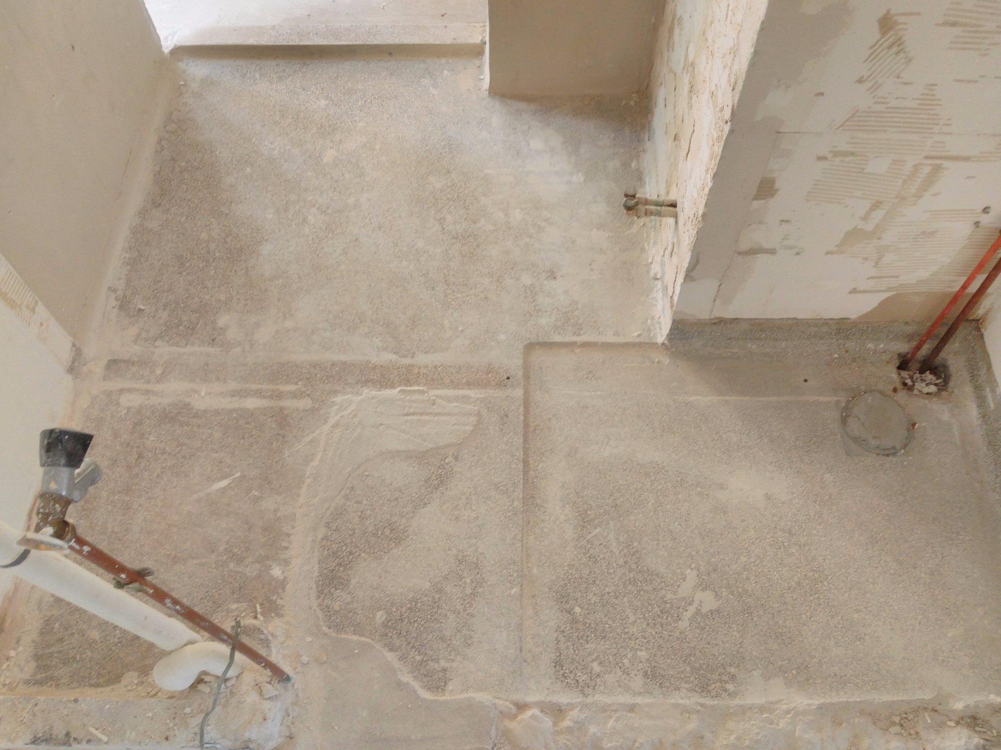 Favoriete Oude granieten douche vloer verwijderen - Werkspot ML46