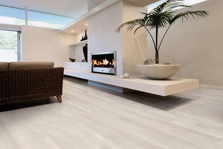 M² afzelia massief houten vloer white wash maken werkspot