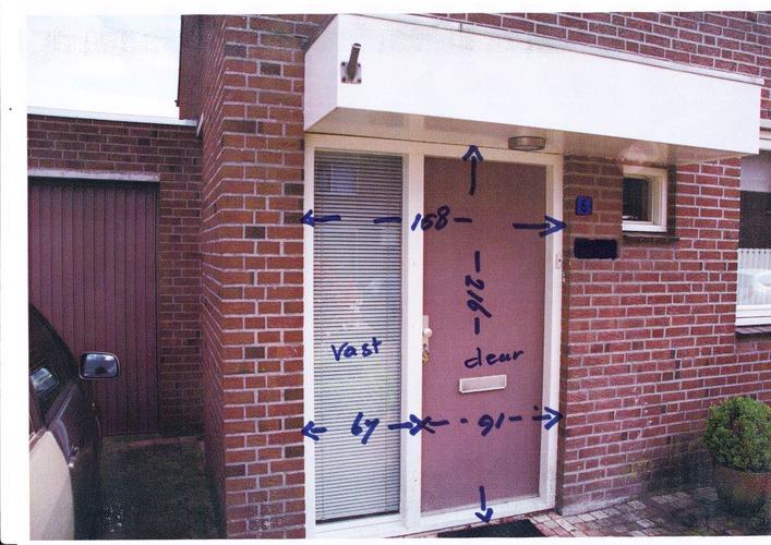 Vervangen bestaande kozijnen ramen deur schrootjes werkspot - Taupe kleurdeur ...
