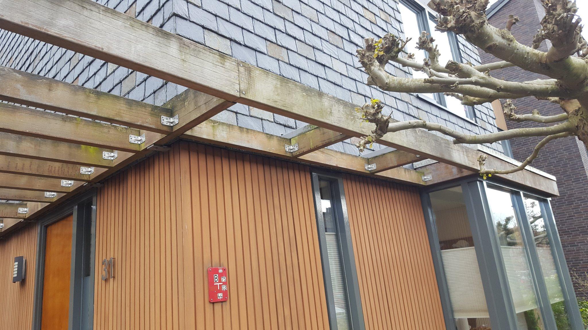 Carport maken dichtmaken 27m2 werkspot for Trapgat maken in beton