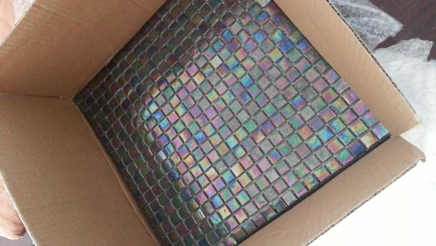 Verbazingwekkend Op korte termijn mozaiek tegels (op netje) plaatsen in onze keuken OD-49