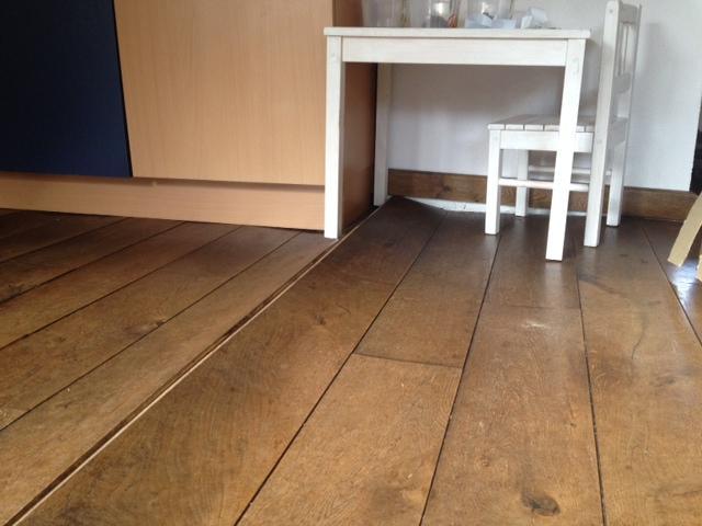 Offerte waterschade eiken houten vloer werkspot