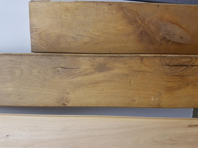 Ondervloer Houten Vloer : Houten vloer rubberen ondervloer leggen m massief eiken