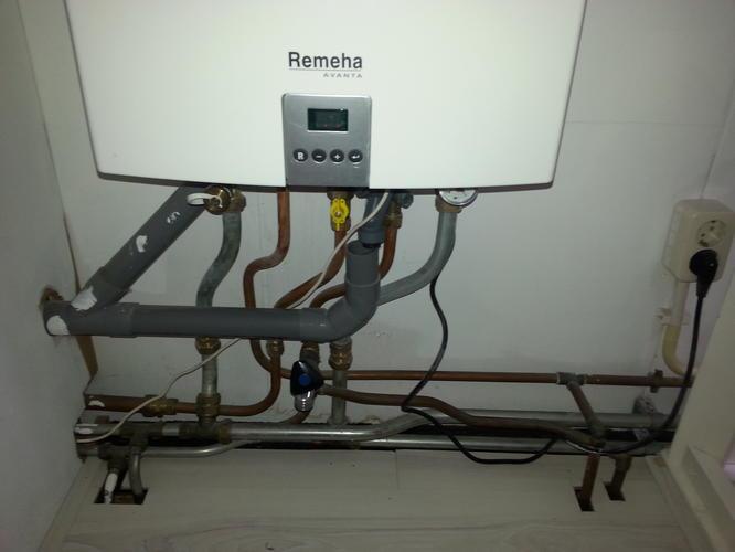Voorkeur Aanleggen aan/ afvoer wasmachine en condensdroger op al bestaande CZ08