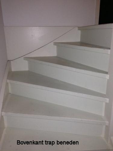 1 Open en 1 gesloten trap bekleden met laminaat   Werkspot