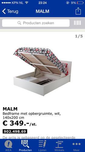 Genoeg Ikea dressoir + bed - Werkspot @OM97