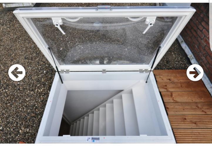 Vaste trap naar dakterras en nieuw dakluik werkspot for Van vlizo naar vaste trap