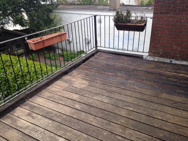Fabulous Houten vlonder en balkonkast plaatsen op dakterras 3 x 5 meter VV35