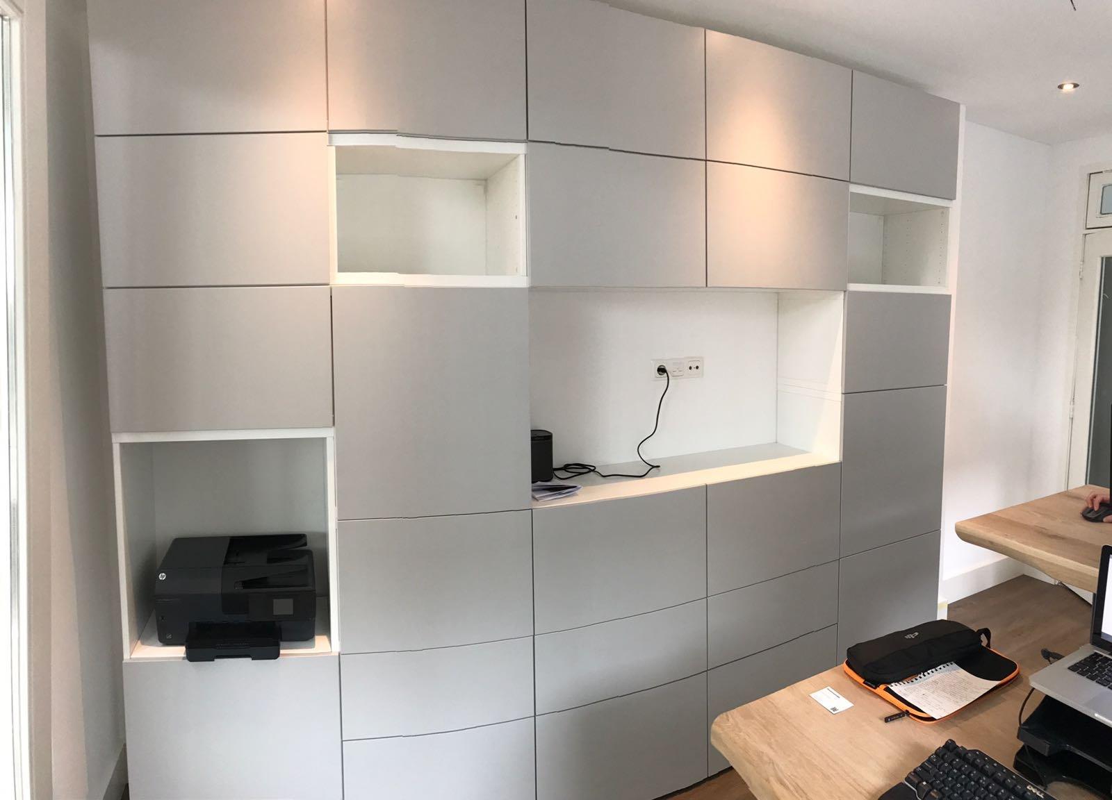 Besta Ikea Kast In Elkaar Zetten Werkspot