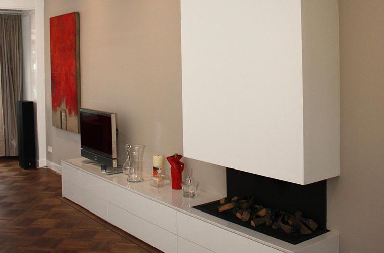 Sfeerhaard Tv Meubel : Plaatsen van sfeerhaard tv meubel werkspot
