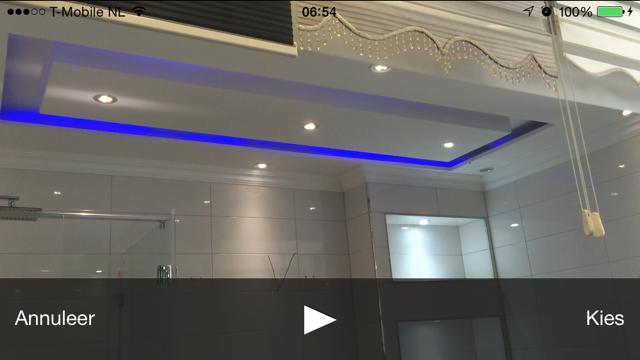 Verlaagd plafond maken in badkamer en voorzien van led verlichting werkspot - Badkamer in m ...
