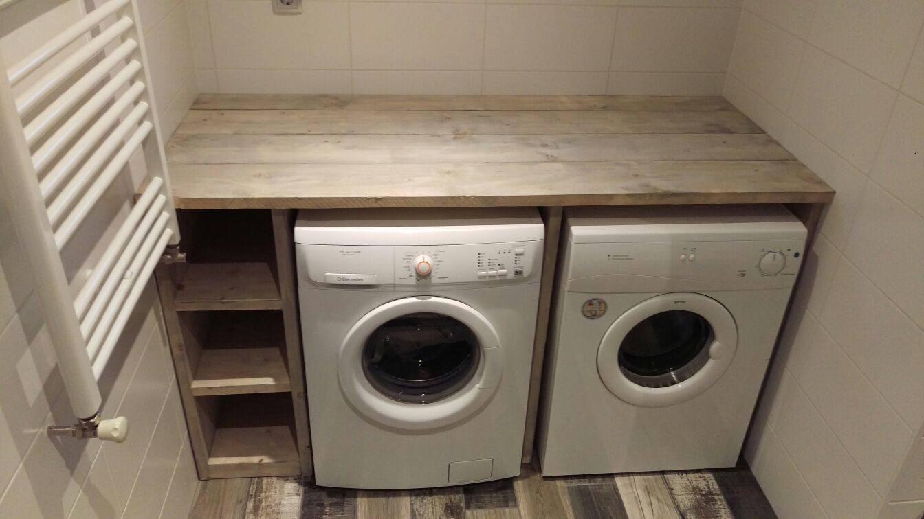 Kast Wasmachine Droger : Wasmachine en droger kunnen worden ingebouwd zelfs achter deuren