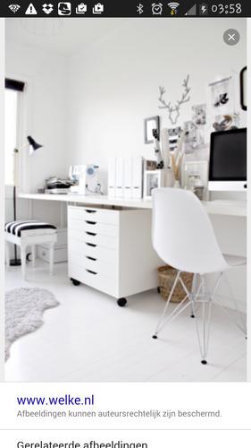 Bureau maken van ikea keukenblad werkspot for Bureau 2 metres