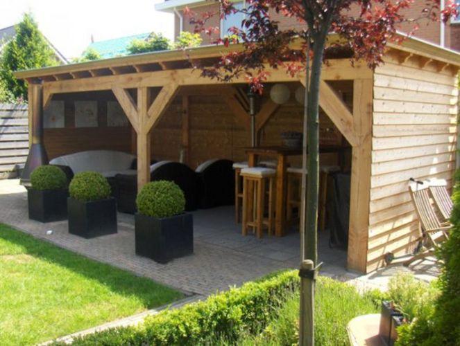 Tuin Veranda Maken : Tuin veranda zelf maken zelf overkapping bouwen met plat dak van