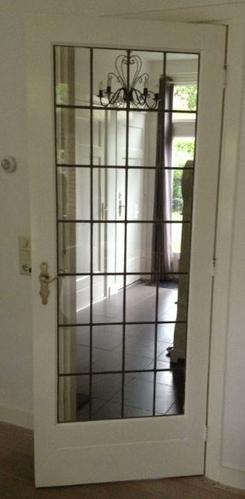 Binnendeur Met Glas.Binnendeur Met Glas In Lood Werkspot