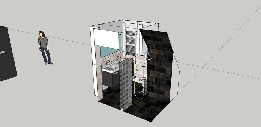 Complete badkamer renovatie 2x2.35meter - Werkspot