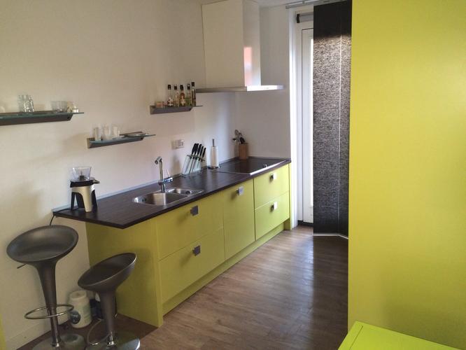 Keukenkastjes Verven Hoogglans : Over spuiten verven keuken naar hoogglans wit werkspot