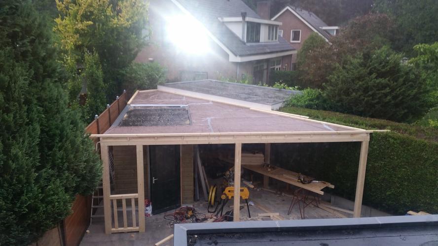 Fabulous Dakbedekking voor nieuw dak overkapping ong. 15 m2 - Werkspot &CP06