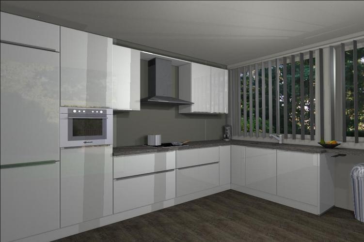 Tegels boven het aanrecht in de keuken plaatsen werkspot - Keuken met cement tegels ...