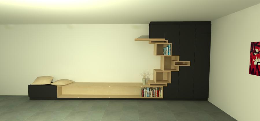 wandkast woonkamer - Werkspot
