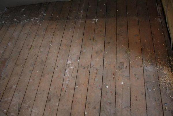 Schuren behandelen originele houten vloer jaren woning werkspot