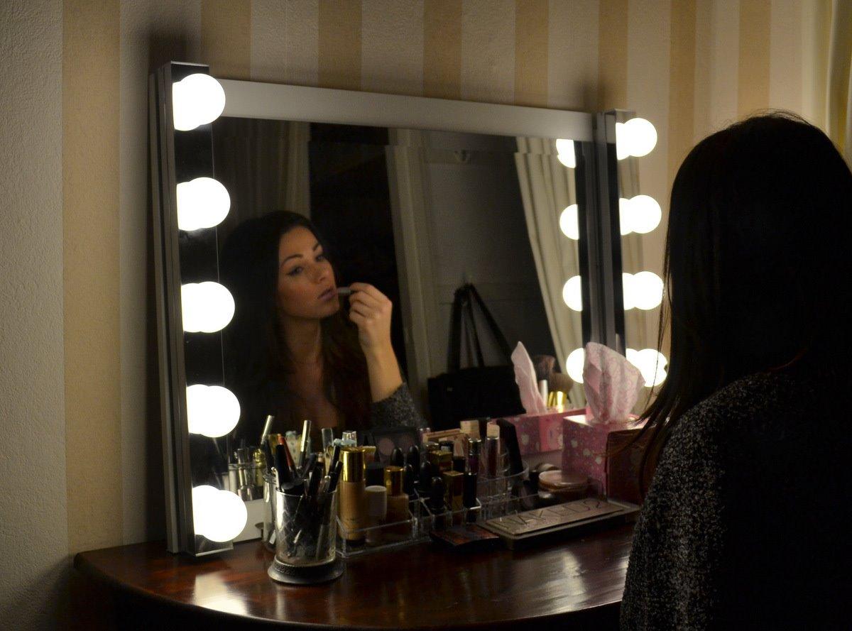 visagie spiegel met verlichting - Werkspot
