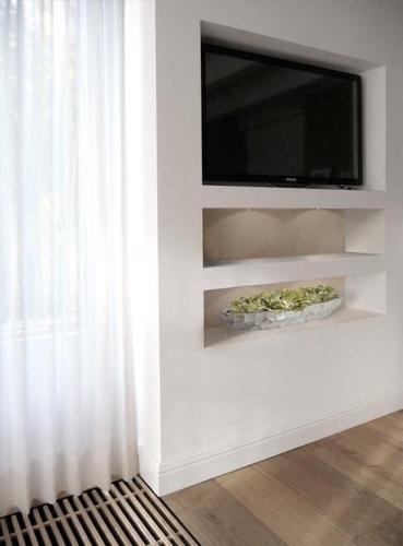 Inbouwkast met vakken voor woonkamer - Werkspot