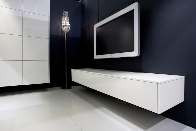 Zwevend tv meubel werkspot for Modern tv meubel design