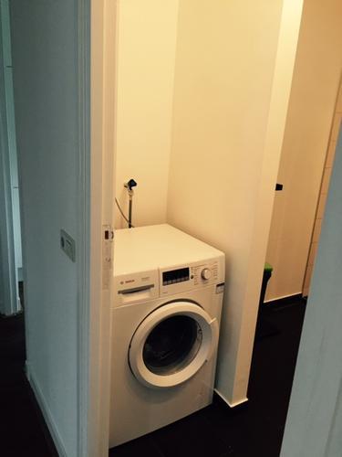 Inbouwkast badkamer boven wasmachine - Werkspot