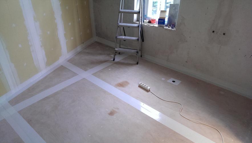 Vloer Betegelen Badkamer : Betegelen badkamer vloer van hout halve badkamer muur werkspot