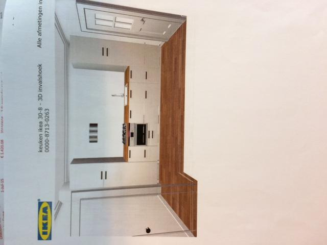 Ikea Keuken Plaatsen Incl Wasmachine Afvoer En Gas Leiding 3 70m X