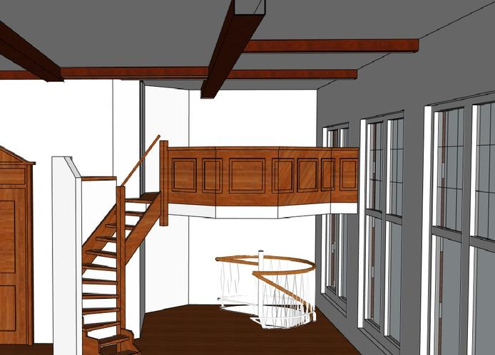 Raveling nieuw trapgat werkspot for Spiltrap berekenen