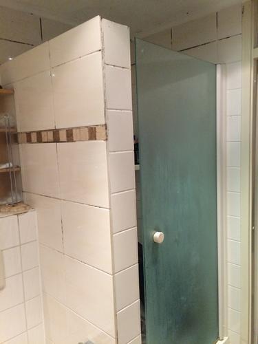 plaatsen inloopdouche amp nieuw toilet amp afzuiging badkamer