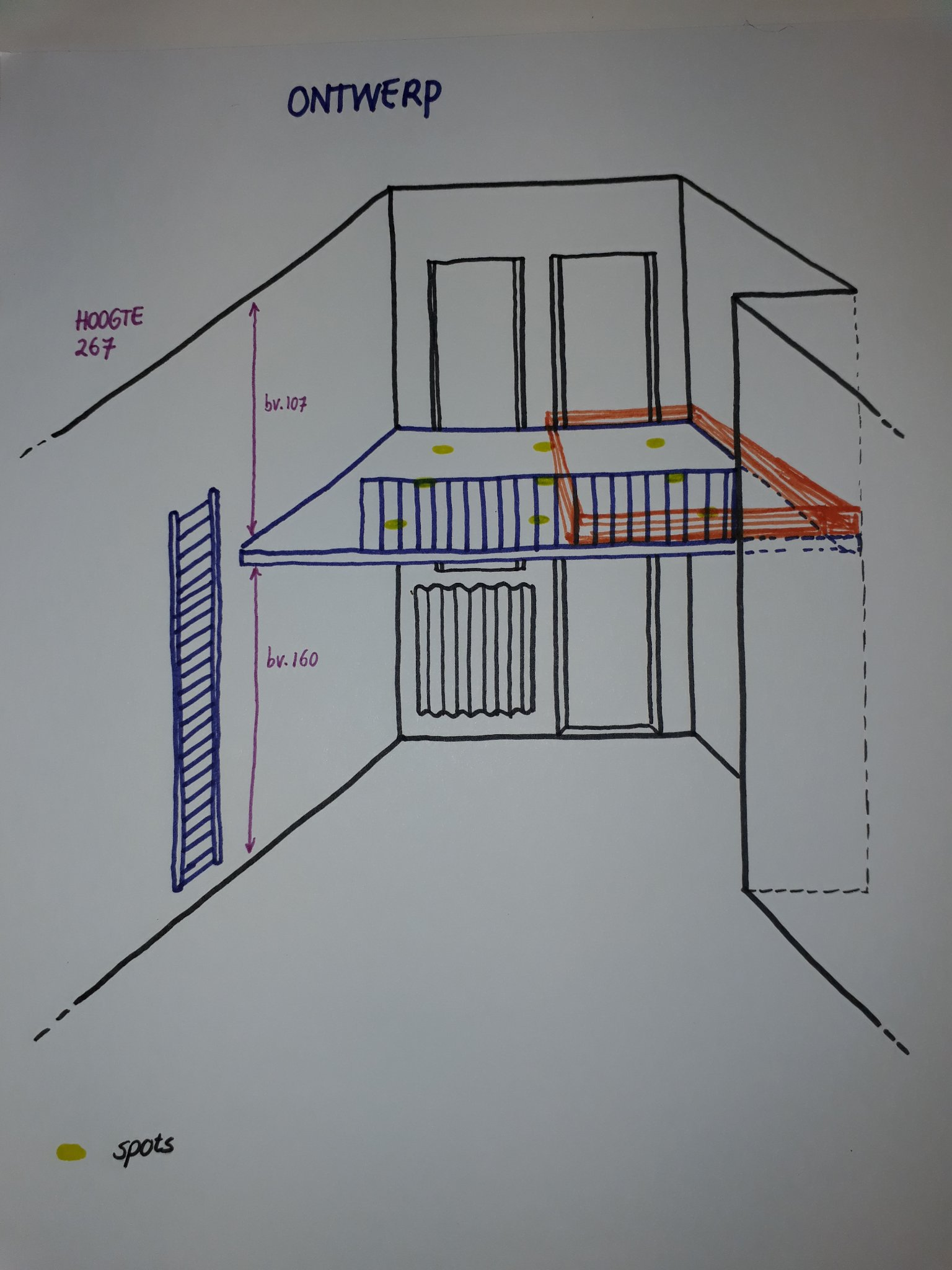 Geliefde Bouw vide in kleine slaapkamer - Werkspot MF25