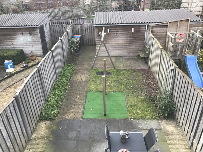 systeem voor kat in tuin te houden werkspot