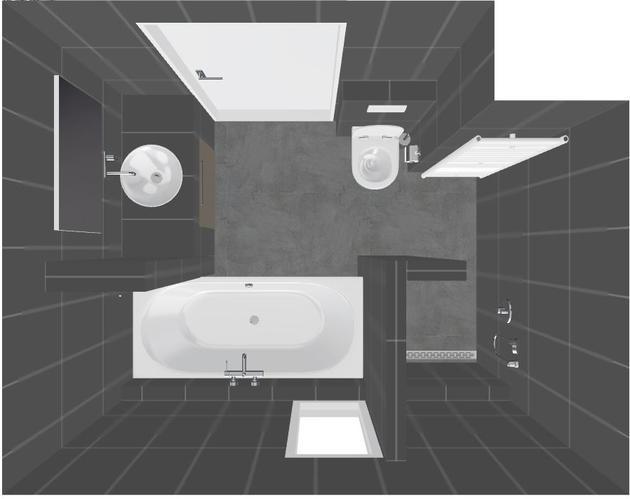 Volledig plaatsen casco badkamer en toilet (nieuwbouw) - Werkspot