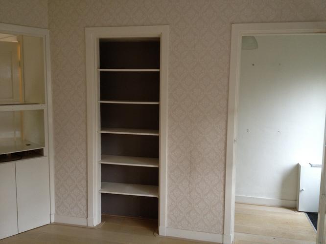 Vergroten vaste inbouwkast woonkamer - Werkspot