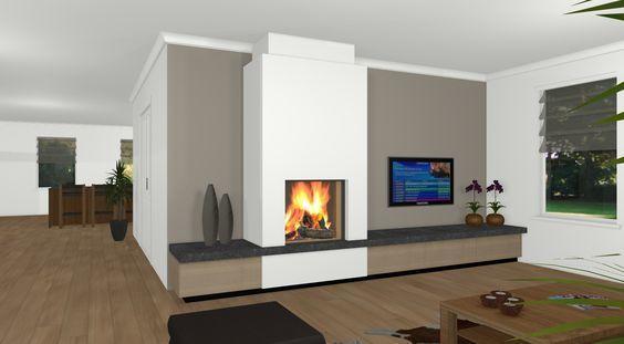 Sfeerhaard Tv Meubel : Plaatsen van elektrische sfeerhaard met tv meubel werkspot