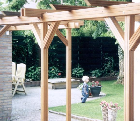 Pergola maken werkspot - Pergola houten ...