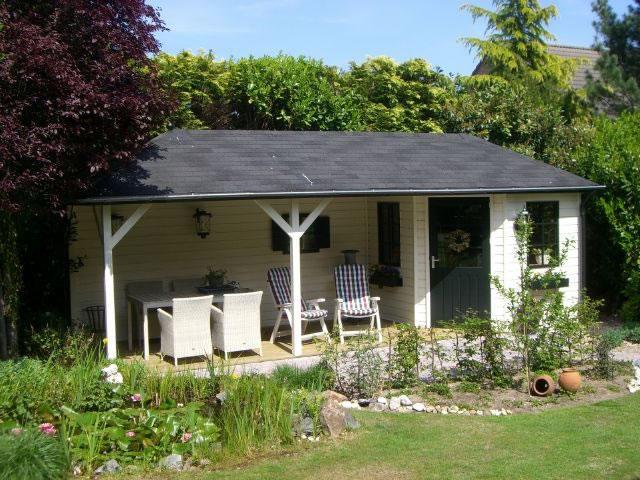 dak veranderen van tuinhuis met overkapping werkspot On afmeting zwembad in tuin