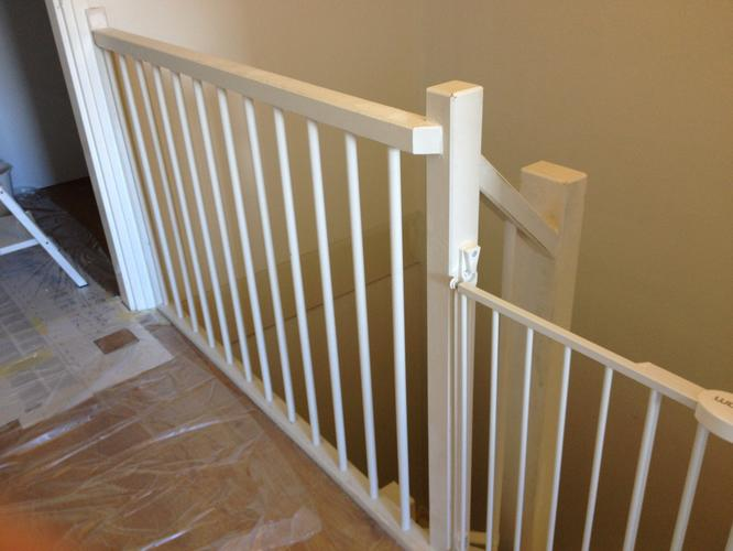 Trap balustrade en hal schilderen werkspot - Balustrade trap ...