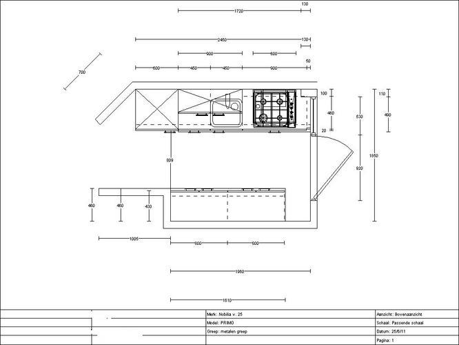 keuken aansluitpunten conform tekening maken werkspot
